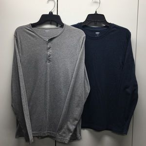 Bundle of Two Long Sleeve Old Navy Shirts